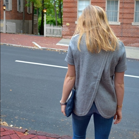 Southern Proper cross back sweater